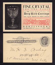 UX14 New York, New York Dorflinger's Fine Crystal