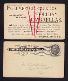 UX14 New York, New York Follmer, Clogg & Co. Umbrellas