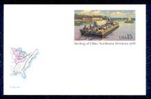 UX124 UPSS# S141 15c Northwest Territory Mint Postal Card