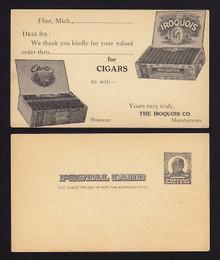 UX19 Flint, Michigan The Iroquois Co., Cigars