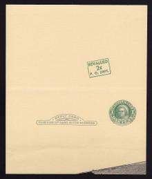 UY15, UPSS #MR25k Mint UNFOLDED, R w/Diagonal Surhcrage Position #3 from sheet of 20