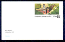 UX135 UPSS# S152 15c Philadelphia Mint Postal Card