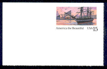UX140 UPSS# S157-1 15c Baltimore Mint Postal Card