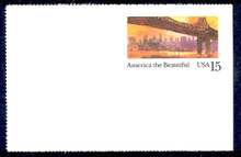 UX141 UPSS# S157-3 15c New York Mint Postal Card