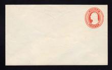 U9 UPSS # 15/T29 3c Red on White, die 5, Mint Entire