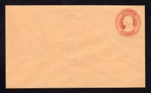 U10 UPSS # 18/T18 3c Red on Buff, die 5, Mint Entire