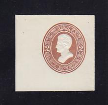 U128 2c Brown on White, die 2, Mint Full Corner, 45 x 43