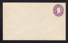 U64 UPSS # 132 6c Purple on White, Mint Entire