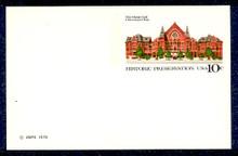 UX73 UPSS# S90 10c Music Hall Mint Postal Card