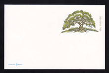 UX645 UPSS # S658A (34c) Tree Mint Postal Card