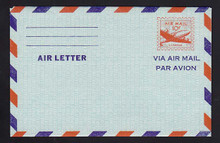 UC16a, UPSS #ALS-2 10c Skymaster, 4-Line inscription on back, Mint, FOLDED