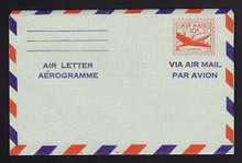 UC16d, UPSS #ALS-4 10c Skymaster, AREOGRAMME-Small, Mint, FOLDED