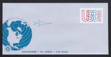 UC48, UPSS #ALS-14 18c Globe & Plane, Mint, FOLDED