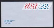 UC50, UPSS #ALS-16 22c USA Red & Blue, Mint, FOLDED