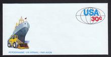 UC55, UPSS #ALS-21 30c World Trade, Mint, FOLDED