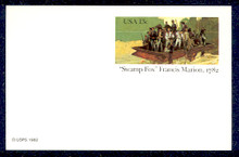 UX94 UPSS# S111 13c Francis Marion Mint Postal Card