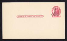 UX32 UPSS# S44-44, Washington Surcharge, Mint Postal Card