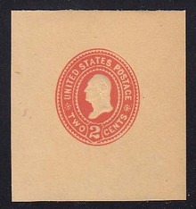 W366 2c Carmine on Manila, die 2, Mint  Large Full Corner