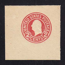 U429c 2c Carmine on White, die 4, Mint Full Corner, 50 x 50