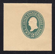 U322 2c Green on Manila, die 3, Mint Full Corner, 50 x 50