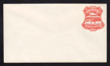 U218 UPSS # 643-3 3c Red on White, die 1, Mint Entire