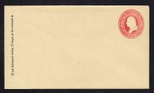 U228 UPSS # 654 2c Red on Amber, Mint Entire , GR