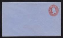 U229 UPSS # 658-6 2c Red on Blue, Mint Entire