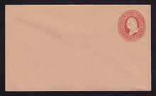 U230 UPSS # 661-5 2c Red on Fawn, Mint Entire