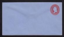 U233 UPSS # 677-5 2c Red on Blue, Mint Entire