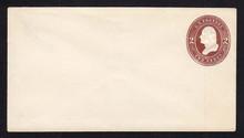 U260 UPSS # 684 2c Brown on White, Mint Entire
