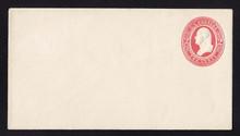 U236 UPSS # 703 2c Red on White, Mint Entire