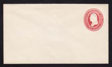 U236 UPSS # 704 2c Red on White, Mint Entire