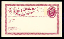 UX65 UPSS# S82 6c Liberty Head Postal Card Mint Postal Card