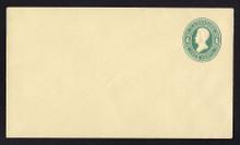 U251 UPSS # 762 4c Green on Amber, die 1, Mint Entire