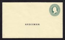 U83, UPSS # 185 Entire, Specimen Form 10