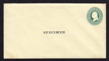 U83, UPSS # 188 Entire, Specimen Form 10