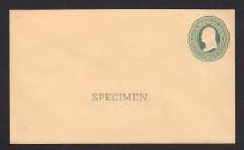 U84, UPSS # 196 Entire, Specimen Form 13
