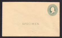 U84, UPSS # 197 Entire, Specimen Form 14
