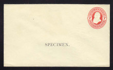 U88, UPSS # 222 Entire, Specimen Form 12