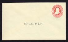 U88, UPSS # 222 Entire, Specimen Form 14