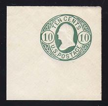 U40a 10c Blue Green on White, Mint Full Corner, 50 x 50