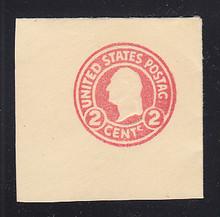 U429 2c Carmine on White, die , Mint Full Corner, Missing E in POSTAGE