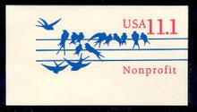 U620 11.1c Birds Non Profit, Mint Full Corner
