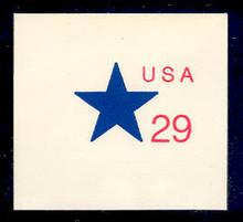 U619 29c Star, Mint Full Corner