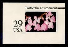 U627 29c Protect the Environment, Mint Full Corner