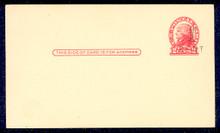 UX33 UPSS# S45-4, Boston Surcharge, Mint Postal Card