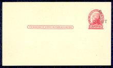 UX33 UPSS# S45-27, New Orleans Surcharge, Mint Postal Card