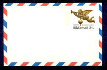 UXC16 UPSS# SA15 21c Angel Weather Vane Mint Postal Card