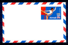 UXC18 UPSS# SA17 21c Gymnast Mint Postal Card