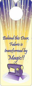 FQG304 Knobie Talk Door Hanger-Magic
